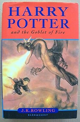 Harry Potter and the Goblet of Fire by J. K. Rowling, HCDJ
