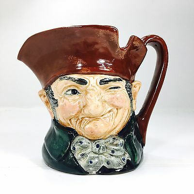 "Vintage Royal Doulton Toby Jug ""A"" Mark Old Charley Large Made In England"
