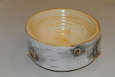 Dept 56 Birch Bark Soup Cereal Bowl Discontinued Pattern Replacement