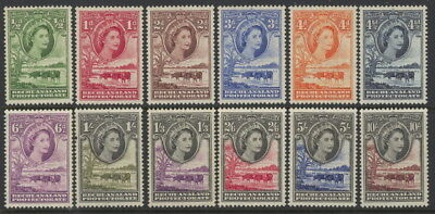Bechuanaland Protectorate 154 to 165 complete set - mnh Elizabeth II