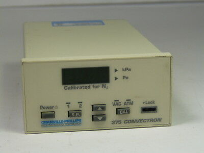 Granville-Phillips 375001-0A-P Convectron Guage Controller ! WOW !