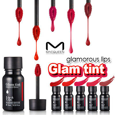 [MACQUEEN NEW YORK] Professional Glam Bold Color Moisturizing Lip Tint 10ml NEW