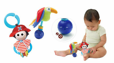 Yookidoo Baby Musical Activity Toy Rattle Pirate Play Set