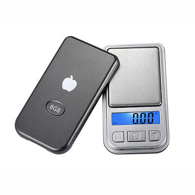 Ultra Mini Jewelry Digital Pocket Scale Weight 0.01g/200g