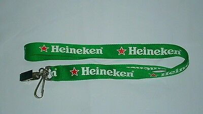 Heineken Beer Event Lanyard brand new unused for home bar, collector or man cave