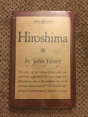 "hiroshima john hersey For the 70th anniversary of the atomic bombing of hiroshima, the new yorker has published online the full text of john hersey's ""hiroshima,"" to which the magazine devoted the entire editorial space of its august 31, 1946 issue ""it does so in the conviction that few of us have yet."