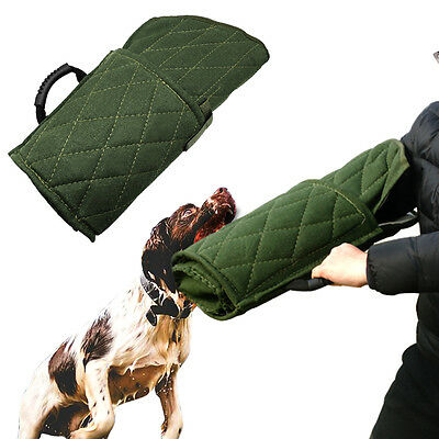 Durable Dog Training Bite Arm Sleeve for Young Working Dogs Green First Level