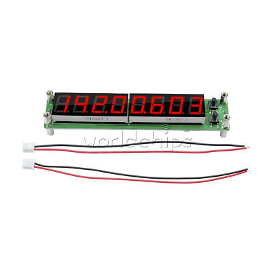 0.1-60MHz 20MHz ~ 2.4GHz RF Signal Frequency Counter Red Cymometer Tester  8 LED