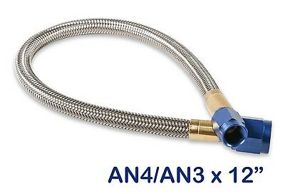 NOS 15340NOS Stainless Steel Braided Hose