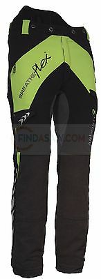 Arbortec Breatheflex Type A Class 2 Trousers - Lime/Black