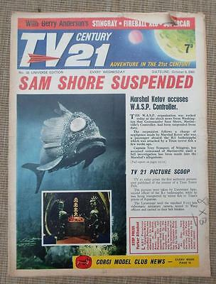 TV 21st  #38 CENTURY XL5 STINGRAY THUNDERBIRDS Daleks fireball