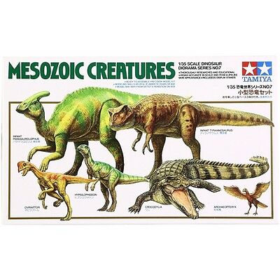 Tamiya 60107 1/35 Scale Mesozoic Creatures from Japan