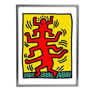 "Keith Haring Pop Art Fine Art Print 16""x12"""