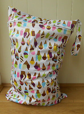 Extra Large Wet Bag - Ice Creams - SECONDS