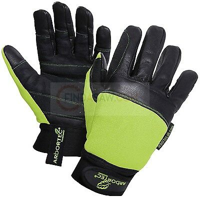 Arbortec Pro Chainsaw Gloves Both Hands Class 1 Protection