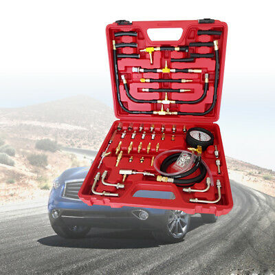 Fuel Pressure Meter Tester Oil Combustion Spraying Injection Trucks tools kit