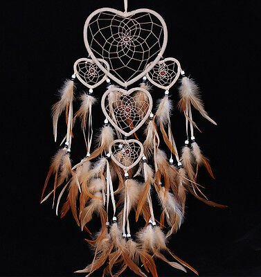 Handmade Dream Catcher with feathers car or wall hanging decoration ornament