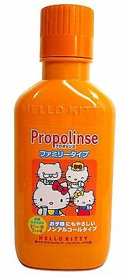 Propolinse Mouth Wash Hello Kitty Family Type 400ml Sanrio fast shipping