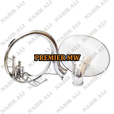 """SUMMER SALE SOUSAPHONE Bb PITCH NICKEL SILVER 21"""" BELL WITH FREE CARRY BAG + MP"""