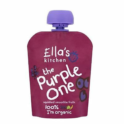 Ella's Kitchen The Purple One 90g Pouch 1 2 3 6 Packs