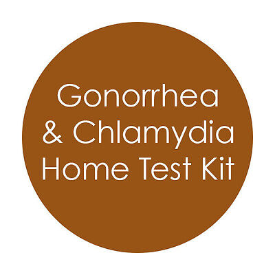 FEMALE / MALE CHLAMYDIA  & GONORRHEA STRIP Test STI STD PRIVATE LISTING