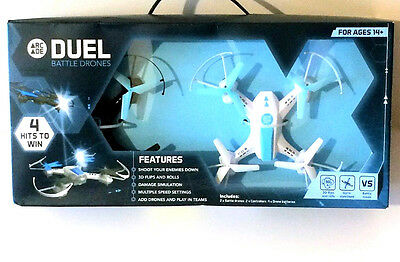 Arcade Battle Drones RC Laser Fighting Rechargable Quadcopters & Controllers