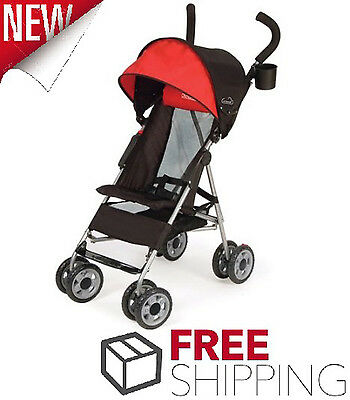 Single Baby Umbrella Stroller Toddler Vehicle Cloud Canopy Travel System Child
