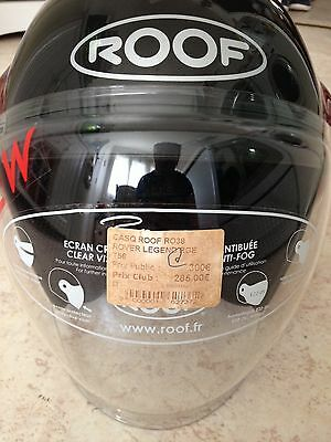roof rover legend casque moto  Rouge shoei hjc agv visiere scooter