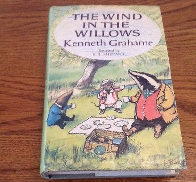 Vintage Book Wind In The Willows By Kenneth Grahame