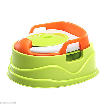 Potty Toilet Training 3 in 1 Potty Toilet Seat Step for Kids Toddler Children