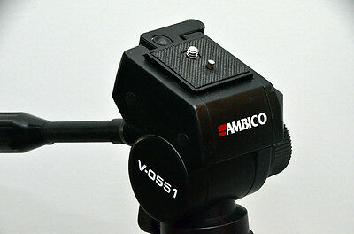 Quick Release Plate/Shoe for Ambico V0551 Tripod with Fluid Type Head