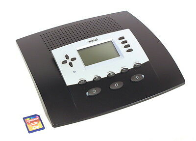 Tiptel 545 SD Pro Answering machine + Switchboard with 2 GB Card Office analogue