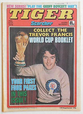 TIGER & SCORCHER Comic - 20th May 1978