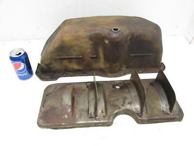 Antique Vintage Ford Model A Oil Pan Car Truck missing drain plug