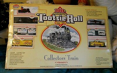 Tootsie Roll 100th Anniversary 1896-1996 Limited Edition Collector's Train New