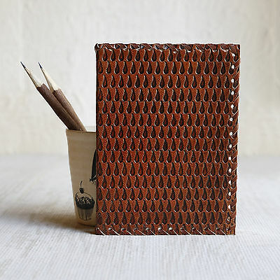 Handmade Leather Writing Journal Notebook 7 Inches Drawing Pad Travelling Diary