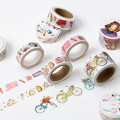 The Beautiful Girl's Accessories Decorative Washi Tape DIY Masking Tape