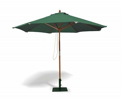 Octagonal 3m Garden Parasol -FSC - 5 colours Shade - FREE cover - Tilting Option
