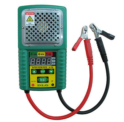 DI-226 Truck Car Battery Load Tester with DAMAGE-FREE & Internal Resistance Test