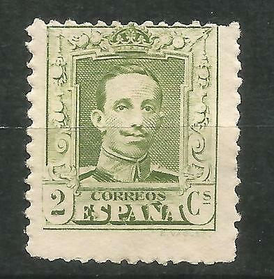 SPAIN Edifil # 310A (*) MNG Alfonso XIII Vaquer Sin goma