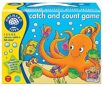 Orchard Toys Catch and Count Game - NEW
