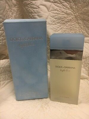 D & G Light Blue by Dolce & Gabbana EDT Spray 3.3 oz New, Box Has Been Opened.