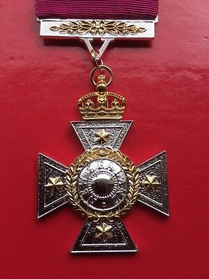 New Zealand Cross Medal  Full Size Die Struck Replacement