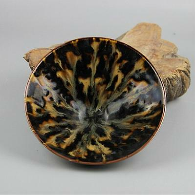 Chinese Song Jizhou kiln tortoise glaze tea cups bowl bowl