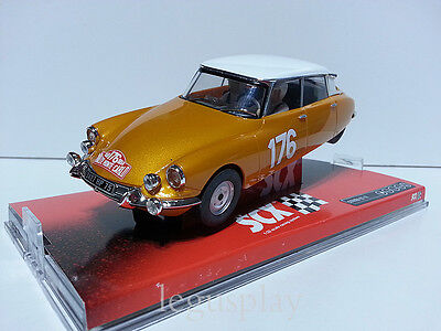 "Slot SCX Scalextric A10025X300 Citroën DS 19 ""Rally Monte Carlo 1959"" - New"