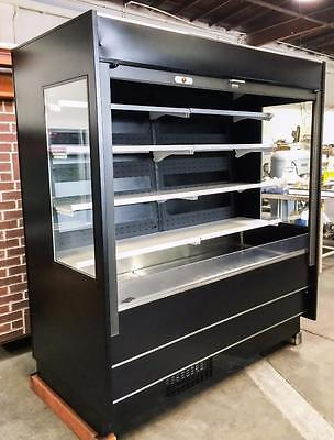 Federal Rssm678C 6' Refrigerated Self-Serve Bakery Display With Security Curtain