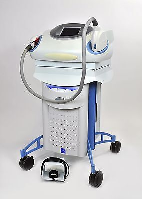 Palomar StarLux 500 Laser System 2007 LuxRs LuxG LuxYs Lux Rs Hand Pieces G Ys