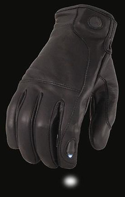 Summer Leather Motorbike Motorcycle Gloves Cow Hide Leather touch screen led