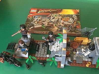 Lego 7196 Indiana Jones • Chauchilla Cemetery Battle • 100% Complete All Figures