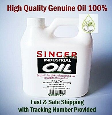 SINGER Industrial Oil High Quality All Purpose Lubricant Sewing Machine 900 cc